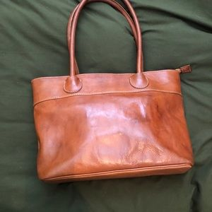 Handbags - Brown Leather Shoulder Bag